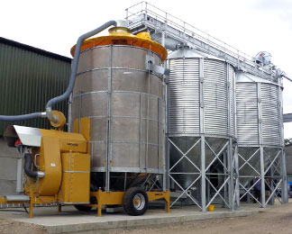 Mobile and Tower Grain Dryers | Mecmar Group